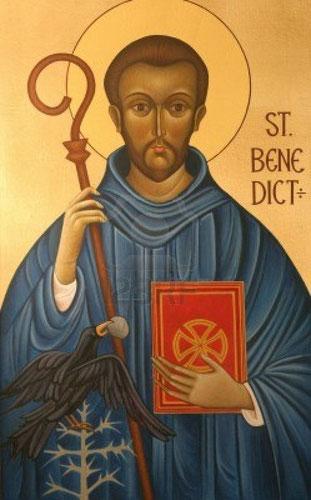 San Benedetto da Norcia  ( 480-547 )