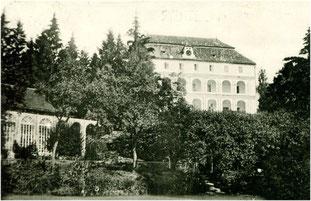 Schloss Eltschowitz im Böhmerwald, einst im Besitz der Sickinger