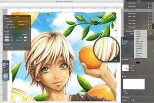 DrawBerry a free vector apps for Mac
