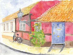 Grußkarte Bornholm