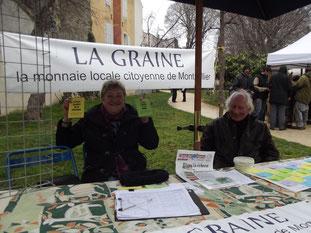 La monnaie locale de Montpellier la Graine