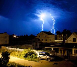 Blitzschlag und die Versicherung - was muss man bei einem Schaden beachten?