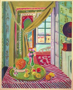Henri Matisse Interno con fonografo, 1934 Olio su tela, cm 100,5 x 80 Torino, Pinacoteca Giovanni e Marella Agnelli ©Succession H. Matisse by SIAE 2015 Image: ©Pinacoteca Giovanni e Marella Agnelli
