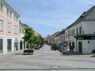 アイゼンシュタットのメインストリート