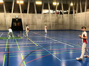 U11 Basel Dragons Indoors in 2019