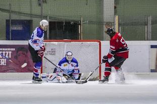 Martin Steinbach konnte die zwischenzeitliche Führung für die Adler erzielen. (Foto: Dominik Wastl)