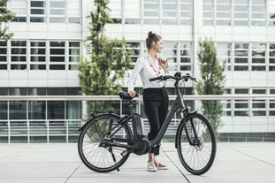 Raleigh City e-Bike