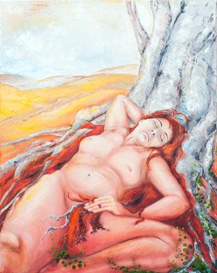 o.T., 80 x 100 cm, Öl auf Leinwand, 2014/2015