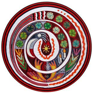 Elvire Clev - Serpent spirale