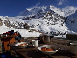 Skitour, Skihochtour, Col des Arpettes, Val d' Anniviers, Wängerhorn, Brunegghorn, Turtmannhütte, Bishorn