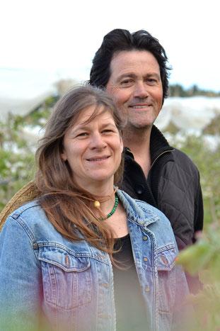 Denis & Magali Dorques - Agriculteurs de L'enclos de la potagère de Villeveyrac