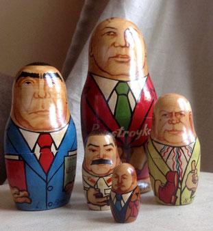 Bild: Foto: Souvenir aus Moskau,  Neustadt/Aisch, Lissy Gröner, Gorbatschow