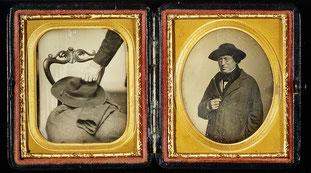 """daguerreotype from 1850s, collection of Metropolitan Museum of Art, """"www.metmuseum.org,"""""""