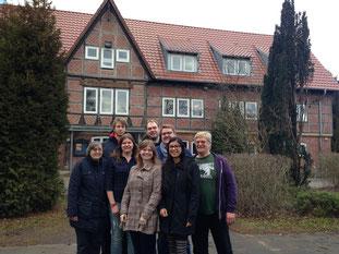 die Buxtehuder Jugendleiter-Delegation bei dem Vorbereitungstreffen im Freizeithaus