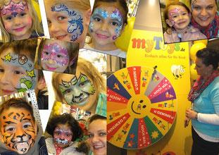 Kinderschminken, Zauberer, Zaubershow, Reutlingen, Tübingen, Esslingen, Stuttgart,  Zaubershow, Reutlingen, Tübingen, Esslingen, Filderstadt