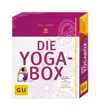 Die Yogabox von Anna Trökes - Yoga Asanas Buchtipp
