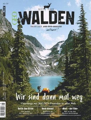 Walden Magazin Wir sind dann mal weg