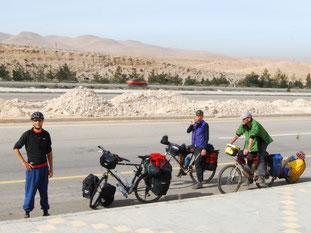 voyage à vélo en Syrie, bike touring