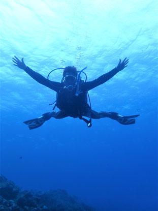 石垣島でのんびりダイビング「四国から」ヒートハートクラブ
