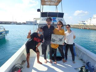 石垣島でのんびりダイビング「秋晴れ」ヒートハートクラブ