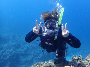 石垣島でのんびりダイビング「念願のダイバー」ヒートハートクラブ