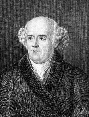 Ein Bild von Dr. Samuel Hahnemann (1755-1843).
