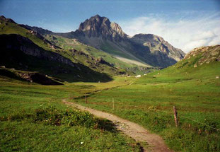 Wanderung hinauf zur Heidi-Alm