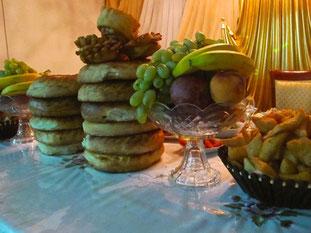 der Hochzeits-Tisch