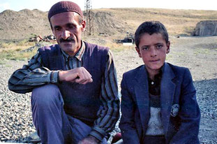 Mohamend und sein Sohn Hassan