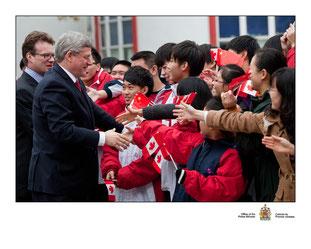 Prime Minister Stephen Harper's visit - 2011
