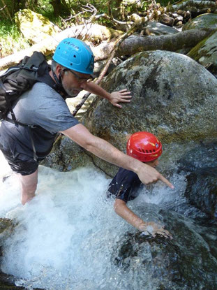 Rando aqua dans les Pyrénées