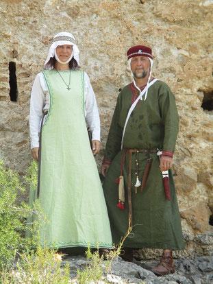 An der Burg Forna/ Azubia bei 40 Grad