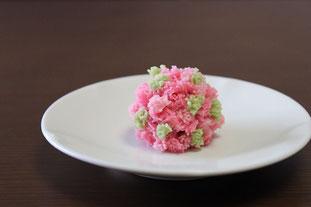 和菓子教室sakura  さつき山