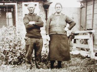 ein Bild der früheren Dorfbewohner