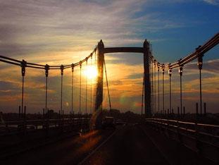 in Lorient - die Brücke über die Blavel