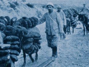 Brot-Nachub für die vorderste Frontlinie