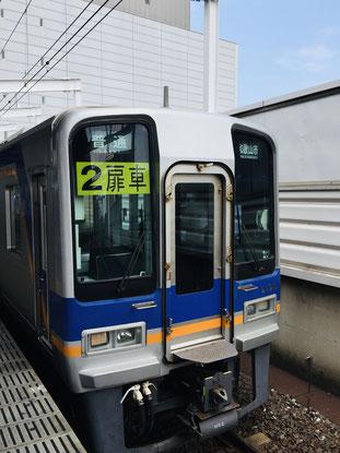 南海2000系 堺駅で撮影
