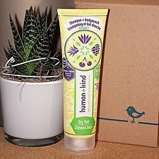 Human and Kind - Shampoo und Bodywash für trockenes Haar