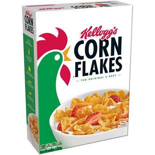 Wie heißt der Hahn auf der Kellogg´s Cornflakes-Verpackung?
