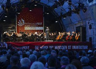 Die Badisches Staatskapelle spielte Schuberts große Symphonie in C-Dur (Bildquelle: KME Karlsruhe Marketing und Event GmbH - Fotograf: Jürgen Rösner).