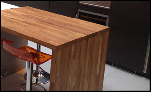 Brighton and Hove Kitchens wood worktops