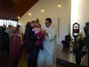 Segnungsgottesdienst in St. Marien Vinnum - Foto: Kath. Kirchengemeinde