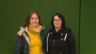 Auf dem Foto v.l.n.r.: Beate Heerma und Sylvia Bokelmann