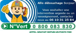 Debouchage canalisation  Bourgogne-Franche-Comté urgent  06 10 31 25 84