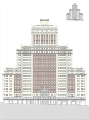 Levantamiento de edificios, Rodrigo Perez Muñoz, Arquitecto