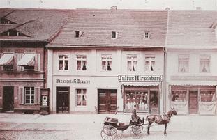 Das Haus um 1893