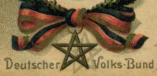 Emblem des Deutschen Volksbundes, um 1910