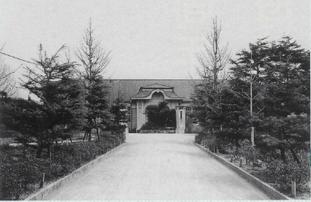 宗像高校 旧木造校舎 玄関