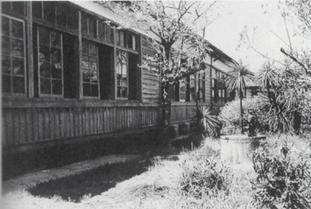 宗像高校 旧木造校舎 教室棟