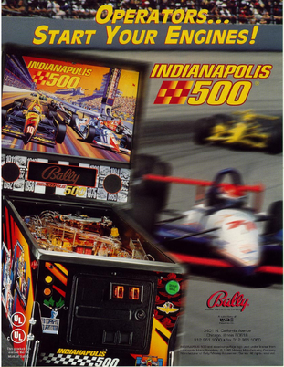 """Indianapolis 500"" von Bally"
